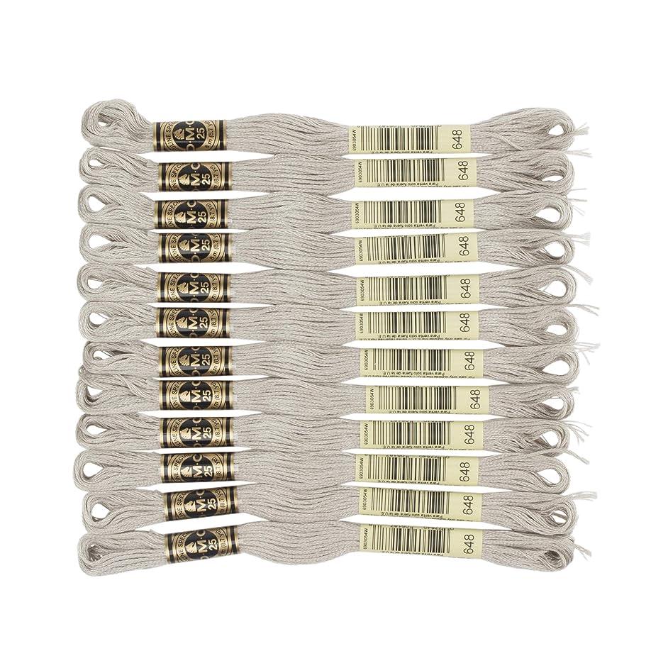 DMC 6-Strand Embroidery Cotton Floss, Light Beaver Grey