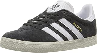 adidas Boys' Gazelle C Sneaker, Collegiate Navy/White/White, 2 M US Little Kid