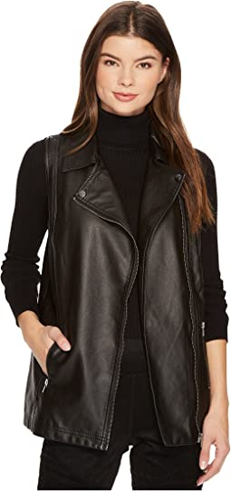 Jack by BB Dakota - Alvis Crinkled Vegan Moto Vest