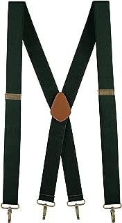 Men Suspenders Elastic Adjustable 48