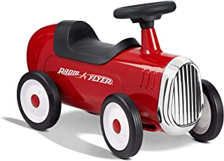 """Radio Flyer Little Red Roadster, Toddler Ride on Toy, Ages 1-3 (Amazon Exclusive), 24"""" Length"""