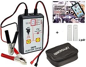 ALLOSUN EM276SET Fuel Injector Tester & Adapter DIY Cleaning Tool Kit Set