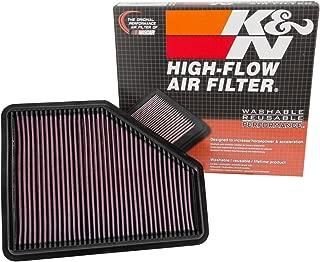 K&N engine air filter, washable and reusable:  2015-2019 BMW (120i, 125i, 220i, 230i, 320i, 330e, 340i, 420i and other select models) 33-3051