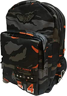 "ROCO BAG BACKPACK ARMY 17"" W/PC"