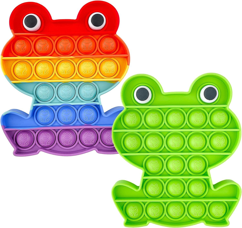 Push Bubble and Pop Sensory Fidget Toy Juguete Inquieto Escudo de Capitán Juegos Sensoriales Estrujar Artilugio Regalo Estrés Ansiedad Alivio Silicona para El Autismo ADHD Necesidad Especial