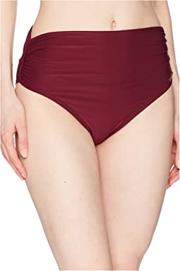 Vince Camuto - Shore Shades Convertible High-Waist Bikini Bottom