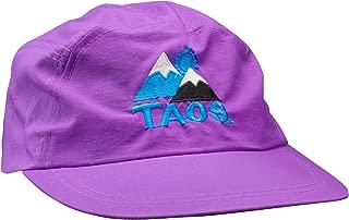 Vintage Ski Resort Hat - Taos 5-Panel Purple