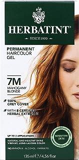 Herbatint Permanent Herbal Haircolor Gel, 7M Mahogany Blonde, 4 Ounce