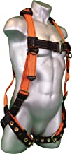 Warthog Full Body Harness with Tongue Buckle Legs (S-M-L), OSHA/ANSI/CSA Compliant