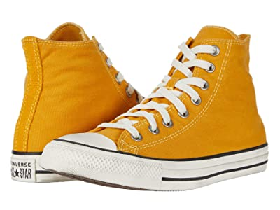Converse Chuck Taylor All Star Hi (Sunflower Gold/Egret/Black) Lace up casual Shoes