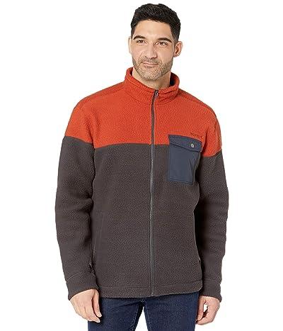 Marmot Aros Fleece Jacket (Dark Steel/Picante/Arctic Navy) Men