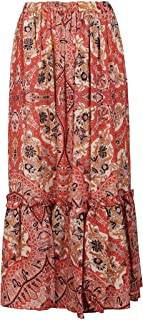 Etro Luxury Fashion Donna 1415343120600 Rosso Altri Materiali Gonna | Ss21