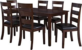 Powell Furniture Linville Dining Set, Cherry