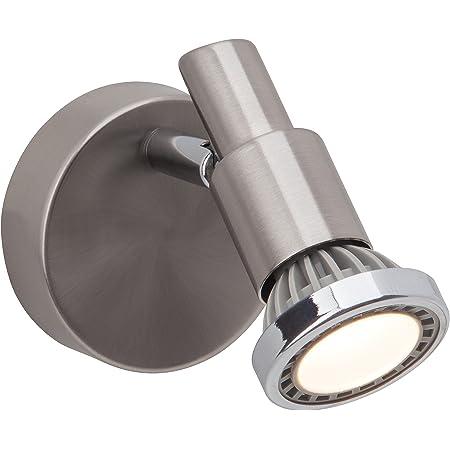 Brilliant G57410/77 Ryan Spot Patère LED 5 W GU10 230 V Acier/Chrome