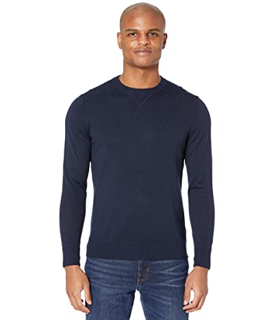Smartwool Sparwood Crew Sweater (Deep Navy Heather) Men