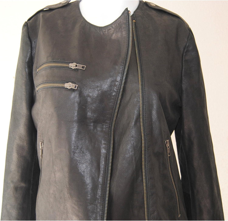 Fadcloset Ellen Womens Leather Jacket