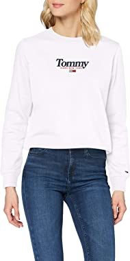 Tommy Jeans Tjw Essential Logo Crew Sweater Femme