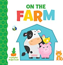 Playful Shapes: On the Farm (Toddler Board Book)