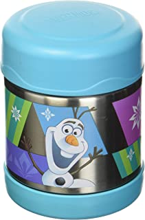 Genuine Thermos Frozen FUNTAINER Vacuum Insulated Stainless Steel Food Jar - Blue (10oz)