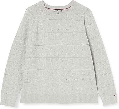 Tommy Hilfiger Cambry C NK SWTR Sweat-Shirt Femme