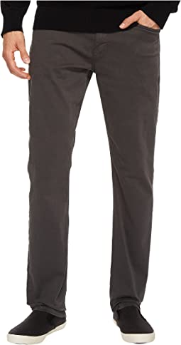 Paige - Federal Slim Straight Leg in Soot