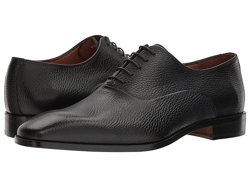 Massimo Matteo Pebbled Oxford (Black) Men