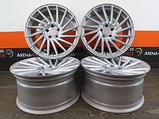 4 llantas de aluminio Keskin KT17 de 18 pulgadas para Nissan Juke Nismo Primera Pulsar Qashqai