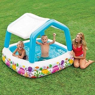 Intex 57470 Infltable Kiddie Pool with Sun Shade