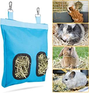 Geegoods Rabbit Hay Feeder Bag, Guinea Pig Hay Feeder...