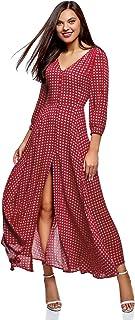 b2b627bb12d oodji Ultra Femme Robe Longue Boutonnée