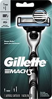 Gillette Mach3 Men's Razor Handle + 1 Refill