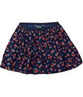 Polo Ralph Lauren Kids - Cotton Flounce Skirt (Little Kids)