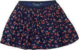 Cotton Flounce Skirt (Toddler)