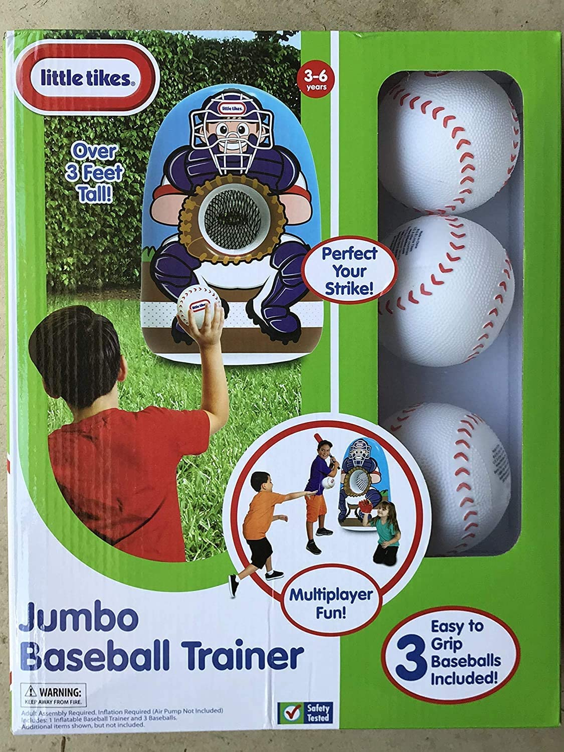 Little Tikes Inflatable Max Max 57% OFF 85% OFF Baseball Trainer