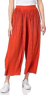 Vila Vipliss Rwrx Cropped Pants Pantaln para Mujer