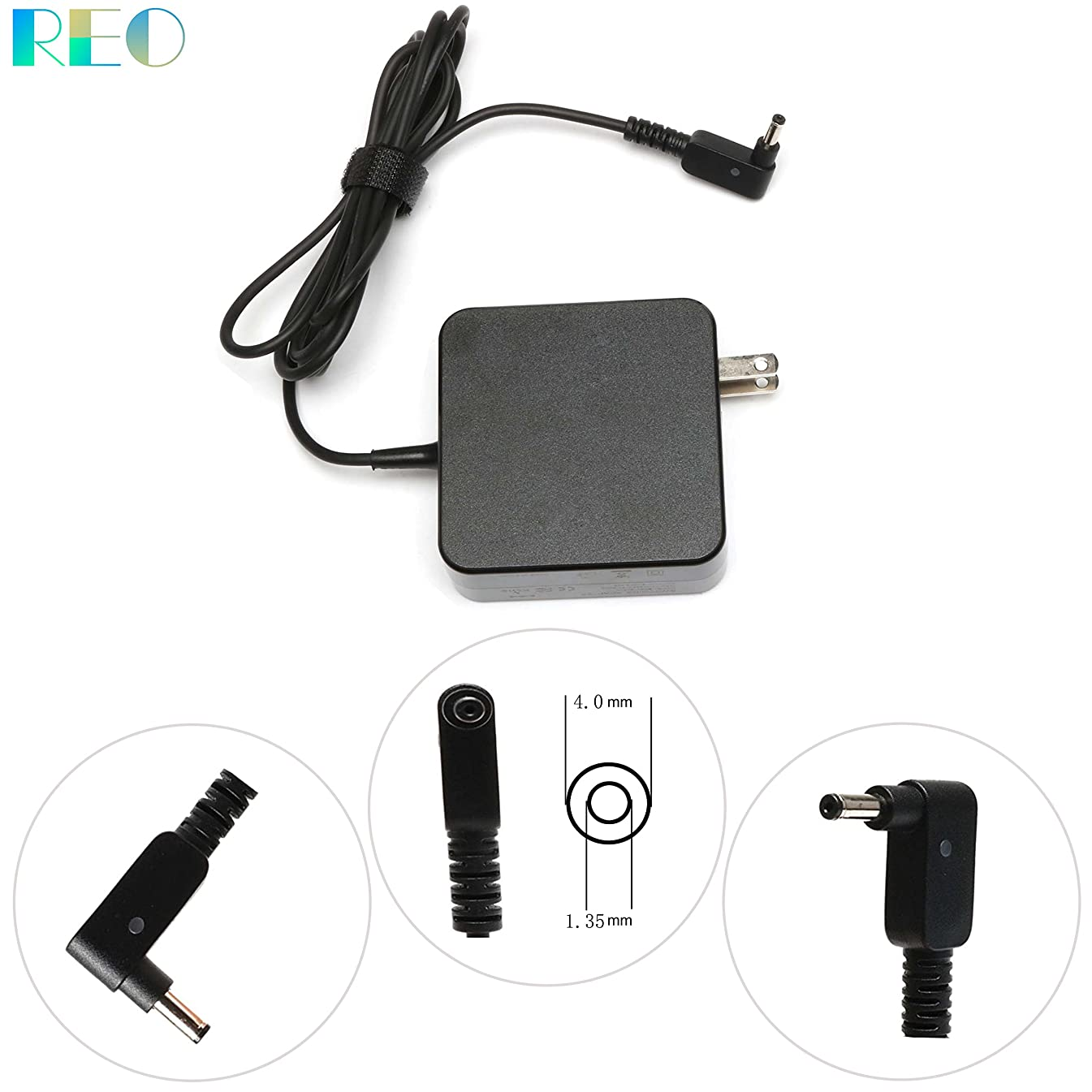 New 65W AC Charger For Asus Zenbook UX305 UX305CA UX305LA UX305FA UX303UA UX303UB UX303LA UX303LN Ux430 UX430UA UX430UQ UX430U Laptop Power Adapter Supply Cord-12 months warranty
