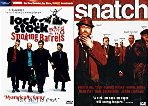 Guy Ritchie Underground Gangster Capers DVD Double Feature: Snatch & Lock Stock And Two Smoking Barrels 2-DVD Bundle