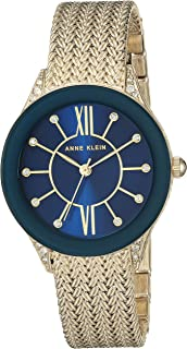 Women's Swarovski Crystal Accented Mesh Bracelet Watch