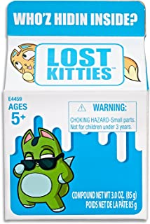 Lost Kitties - Surprise Carton - Inc Collectible Doll Like Kitten, Modelling Dough & Acc - Kids Toys - Ages 5+