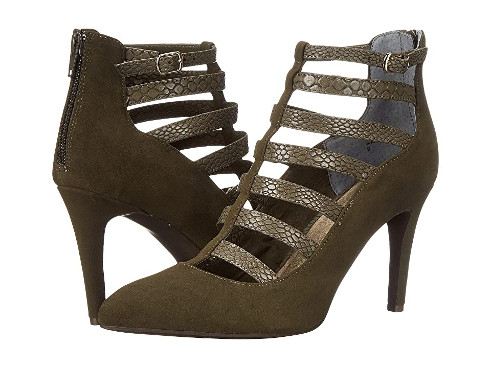 Seychelles Drum Kit (Military Green Suede) High Heels