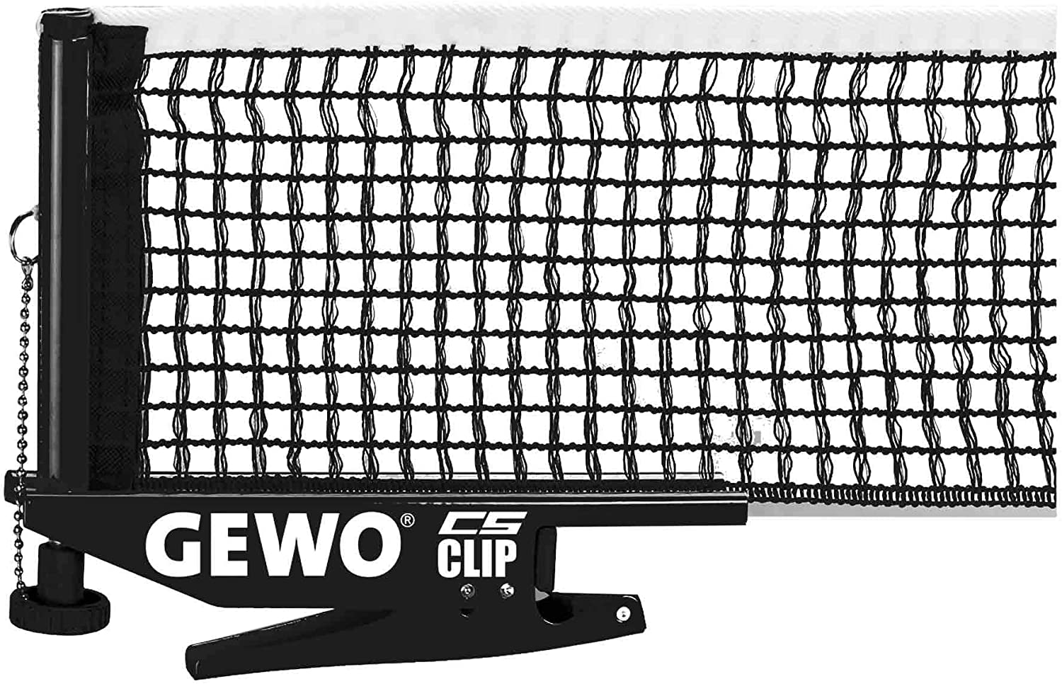 GEWO Chicago Mall Unisex – Adults Net A surprise price is realized CS Table Clip Tennis Nets ITTF Black