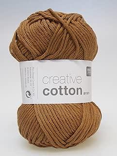 Rico Creative Cotton Aran 57 Cinnamon