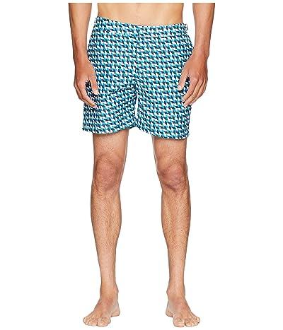 Orlebar Brown Bulldog Barthmann Swim Shorts (Azure) Men