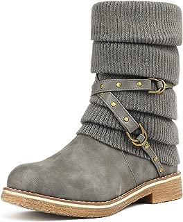 Women's Mid Calf Fashion Winter Snow Boots