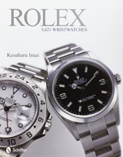 Rolex: 3,621 Wristwatches (It is a Book, not a watch): 3,261 Wristwatches