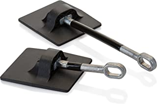 Refrigerator Door Lock Without Padlock - Black