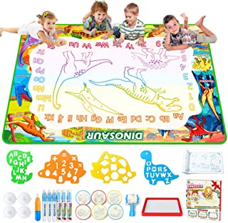 Jasonwell Aqua Magic Doodle Mat - 60 x 40 Inches Large Water Drawing Doodling Mat Painting Writing Doodle Board Coloring M...