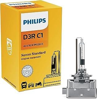 Philips D3R Standard Authentic Xenon HID Headlight Bulb, 1 Pack