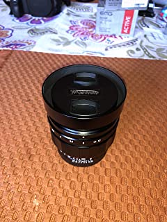 Voigtlander Nokton 40mm f/1.2 Aspherical Lens - Sony E
