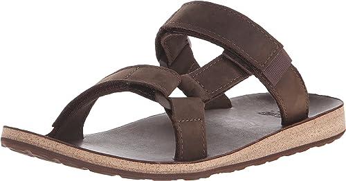 Teva M Universal Slide Slide Slide Leather, Chaussures d'Athlétisme Homme 626